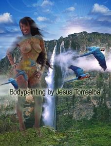 Pantera Bodypainting