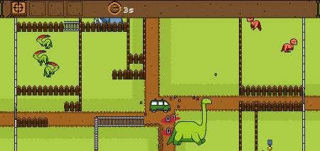 Dinosaur Zookeeper